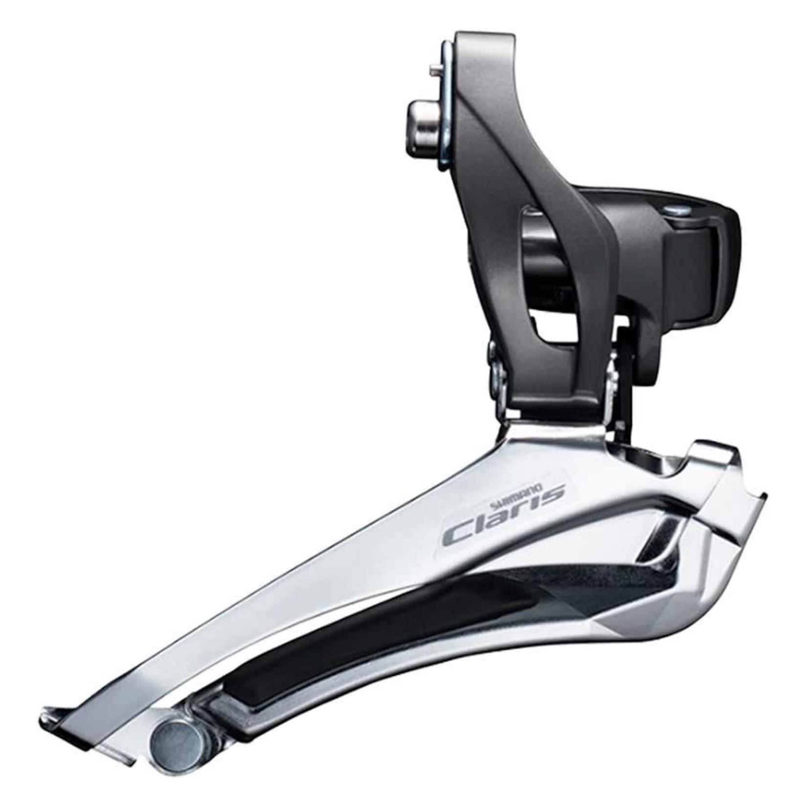 Shimano Claris FD-R2000, Dérailleur avant, 2 x 8vit., Down Swing, Down Pull, High 28.6/31.8/34.9mm