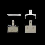 Shimano Y8C998050, B01S, BR-RT615, Patins de freins a disque, Resine, Paire, B type