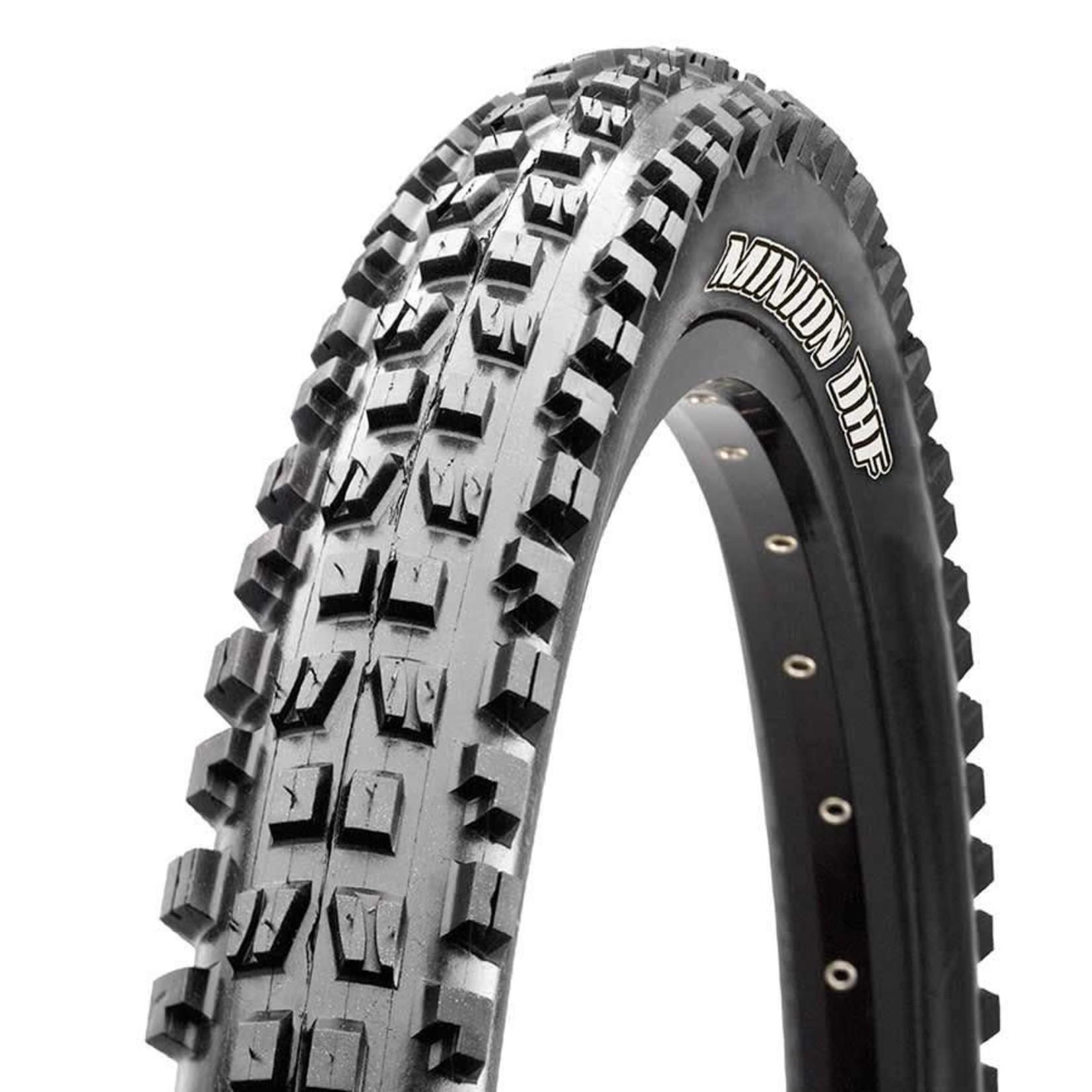 Maxxis Minion DHF, Tire, 29''x2.50, Folding, Tubeless Ready, 3C Maxx Grip, EXO , Wide Trail, 60TPI, Black
