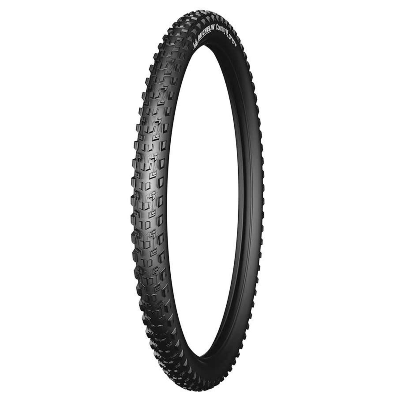 Michelin Country Grip'R, Tire, 26''x2.10, Wire, Clincher, 30TPI, Black