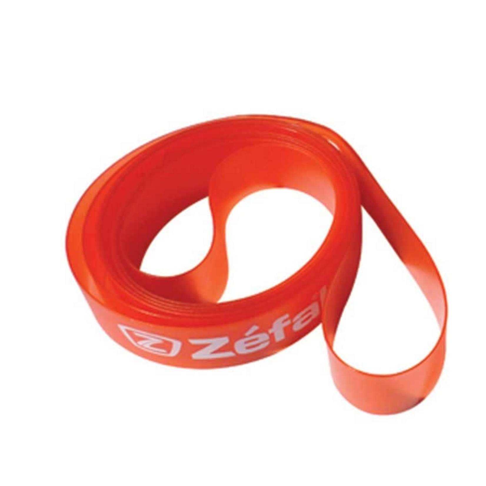 Zefal Soft PVC, Fond de Jante, 26'' x 22mm, VTT, Rouge, Unite