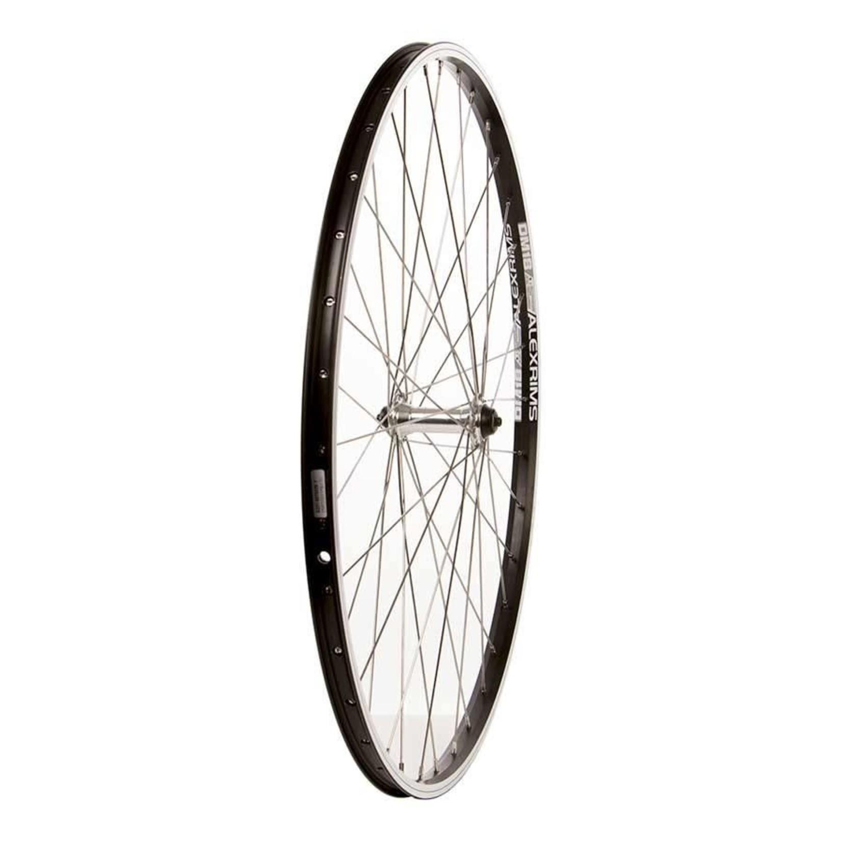 The Wheel Shop Alex DM18 Noir/ Formula FM-21, Roue, Avant, 700C / 622, Trous: 36, Boulons, 100mm, Sur jante