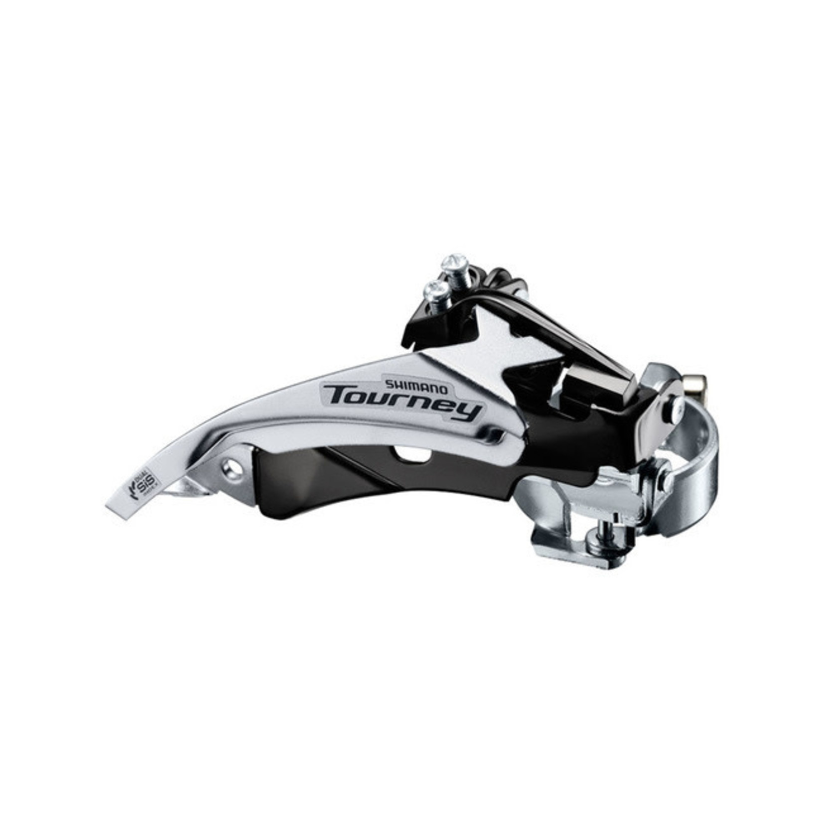 Shimano FD-TY510-TS3, TOURNEY, TOP-SWING, DUAL-PULL, FOR REAR 6/7-SPEED,BAND TYPE 34.9MM(W/S & M ADAPTER),CS ANGLE:63-66, FOR 48T,CL:47.5/50MM