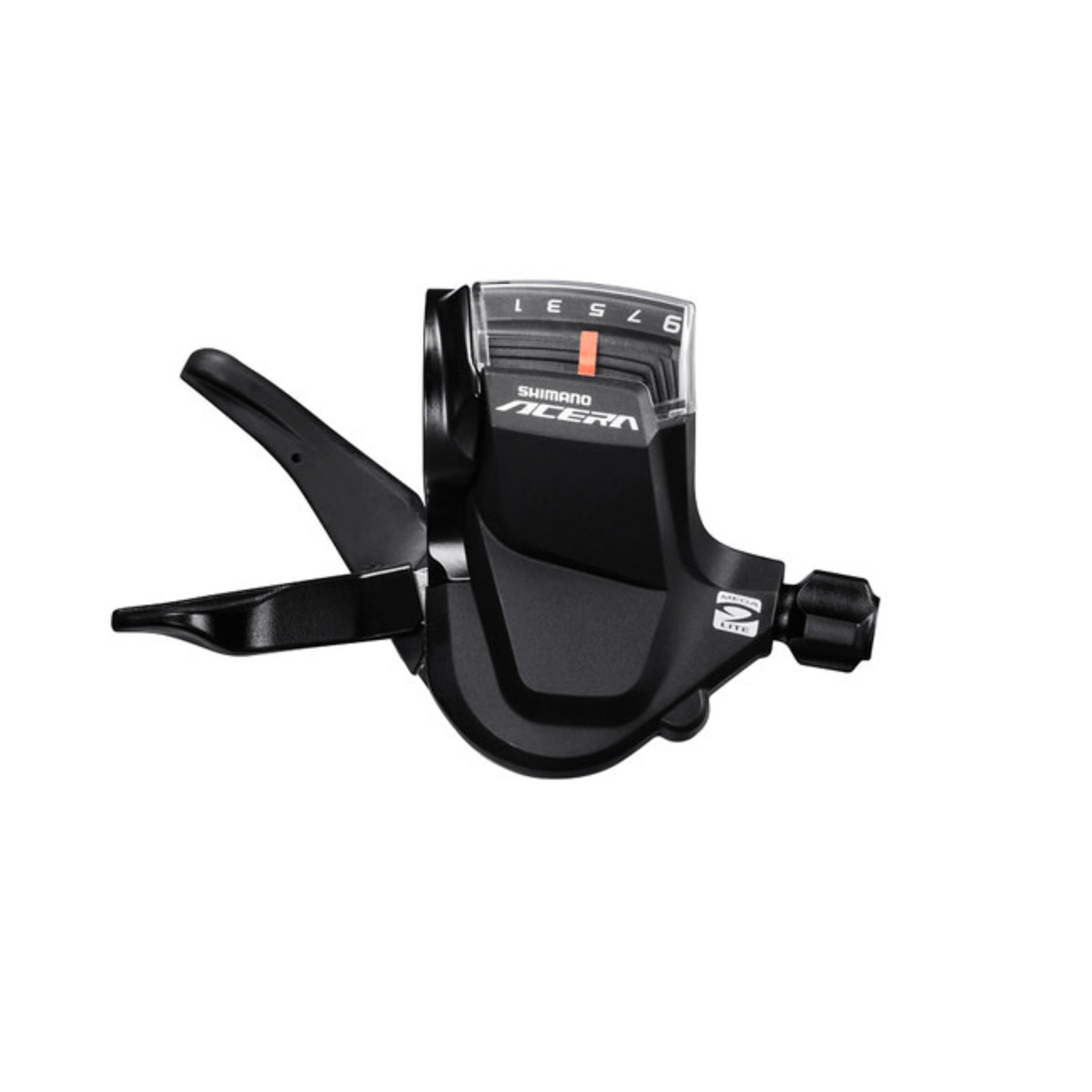 Shimano SHIFT LEVER, SL-M3000-R, ACERA, RIGHT, 9-SPEED, RAPIDFIRE PLUS, W/ OPTICAL GEAR DISPLAY