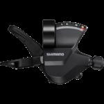 Shimano SL-M315-8R, RIGHT, 8-SPEED RAPIDFIRE PLUS, W/ OPTICAL GEAR DISPLAY