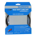 Shimano ROAD SHIFT CABLE SET POLYMER COATED FOR R9100, OT-RS900 INCLUDED - BLACK