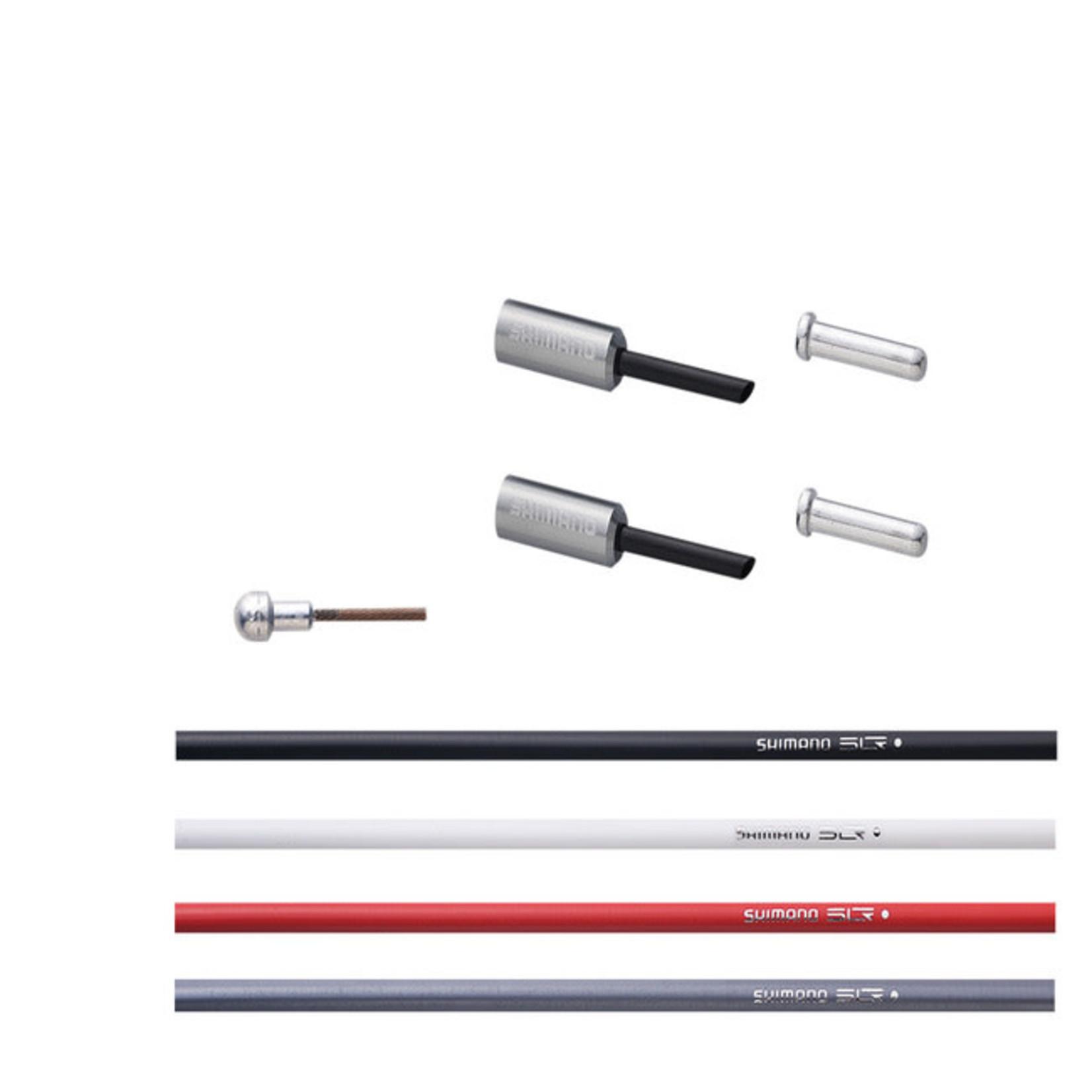 Shimano BC-9000 ROAD POLYMER BRAKE CABLE SET- YELLOW
