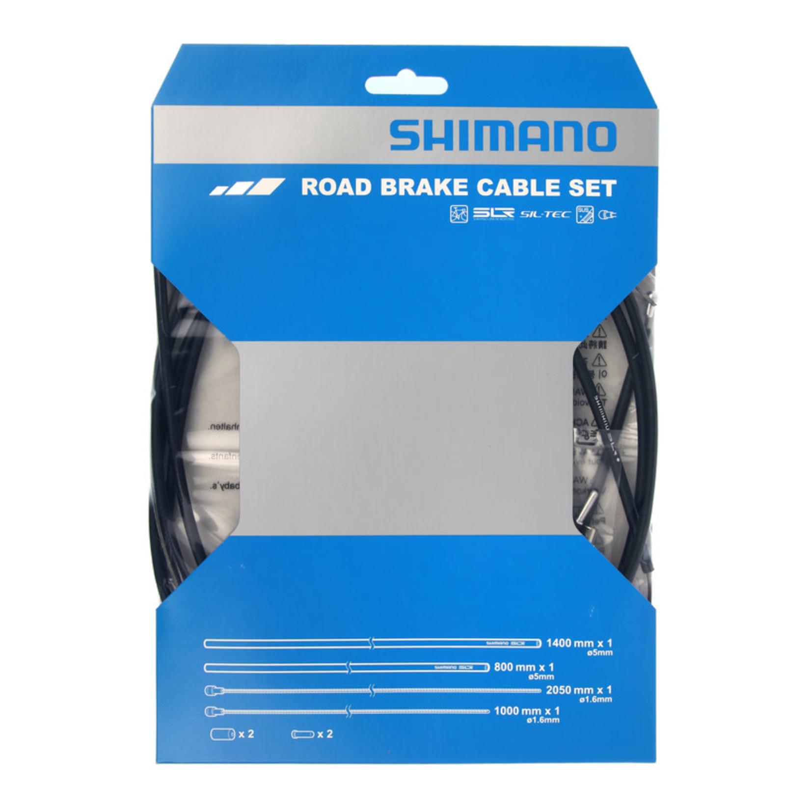 Shimano ROAD PTFE BRAKE CABLE SET - BLACK