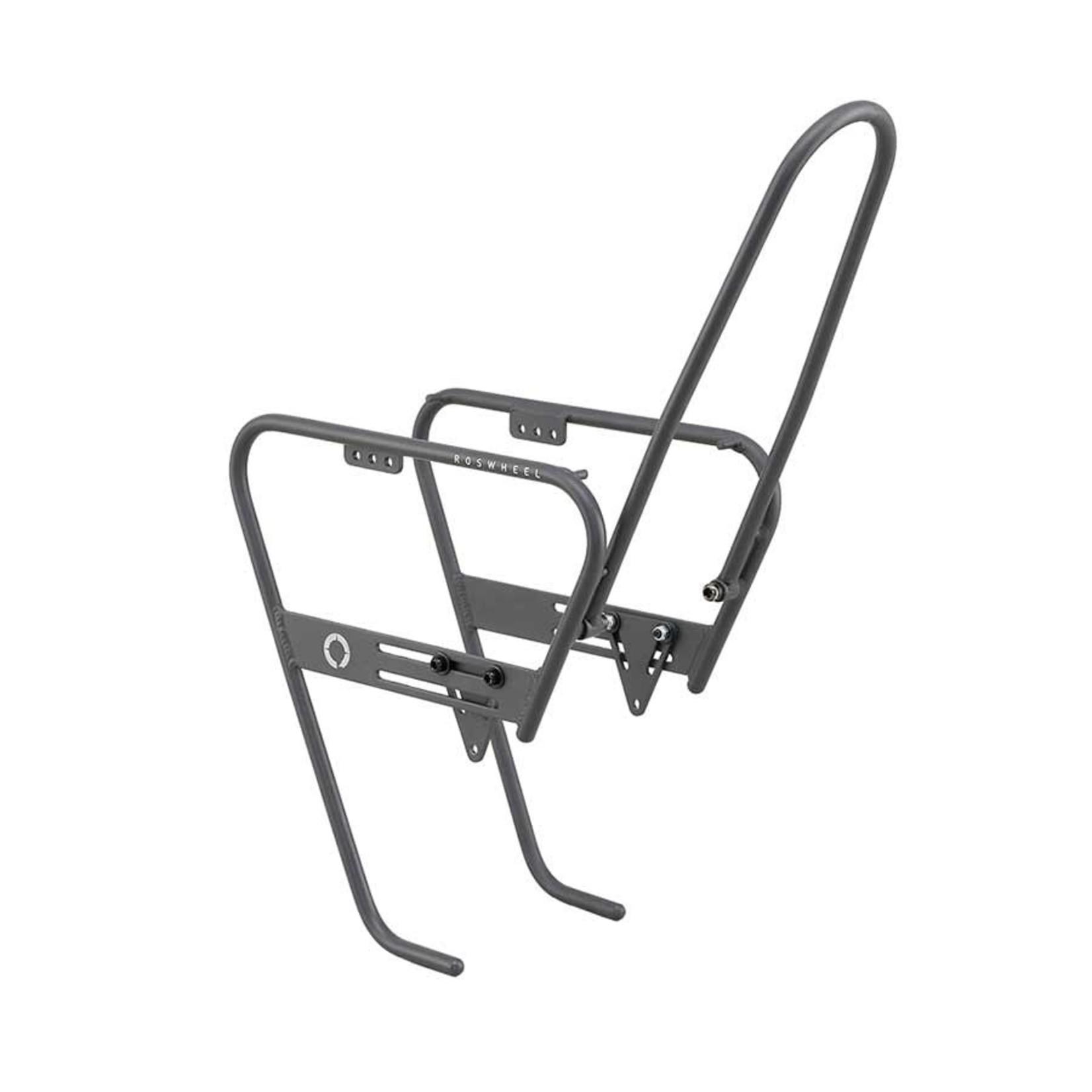 Roswheel Porte-Bagages AvantTour, 650b, 700c, 26'', 27'' et 29'', Noir