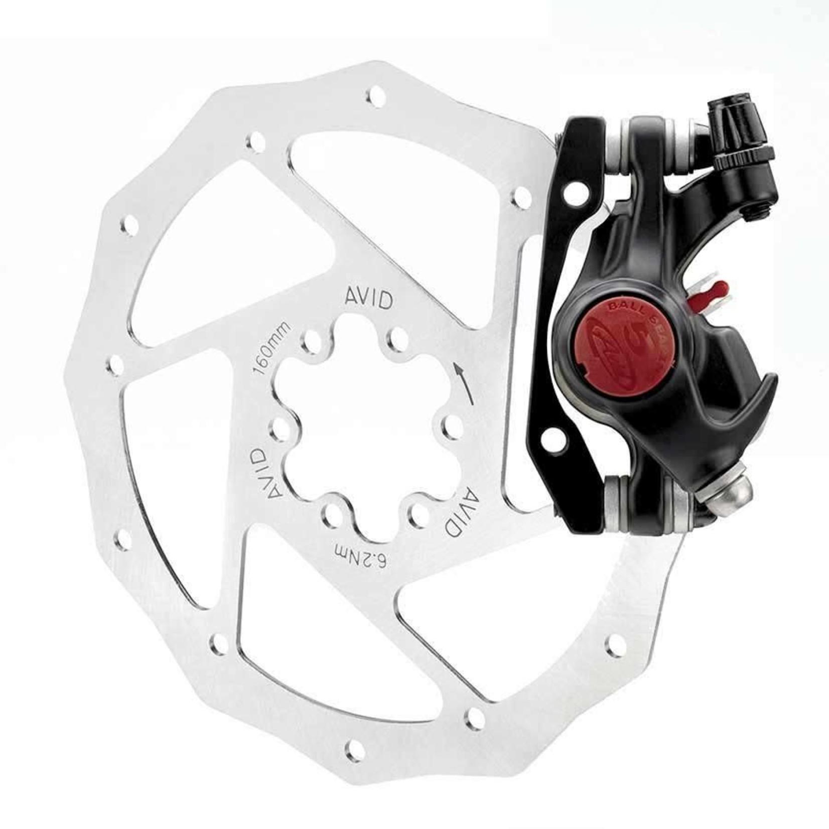 AVID BB5 MTB, Frein a disque mecanique, Gris, Avant ou Arriere, Sans rotor, Sans adaptateur