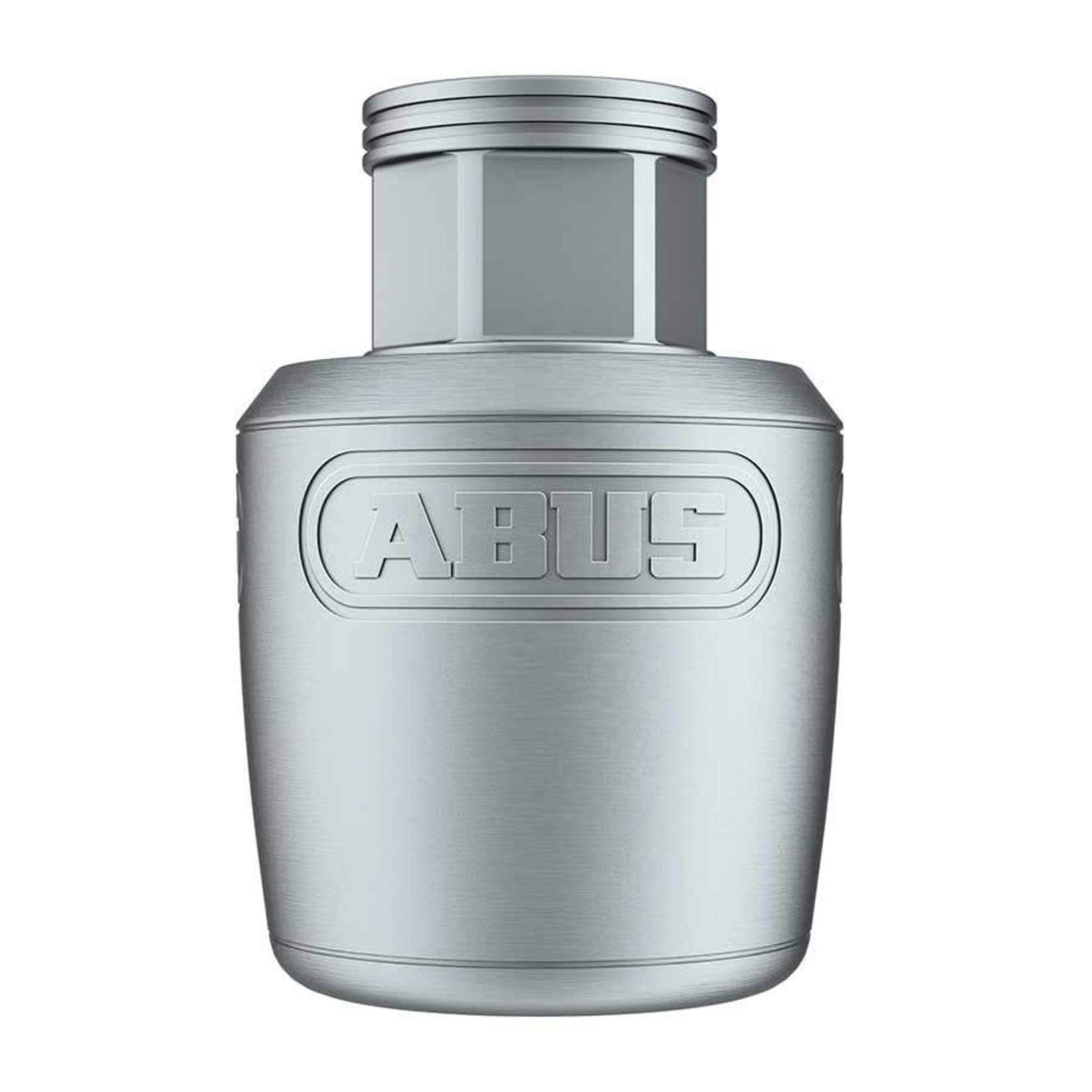 Abus Nutfix Axle Set, Locking skewers, Pair, 100/135mm O.L.D, Silver