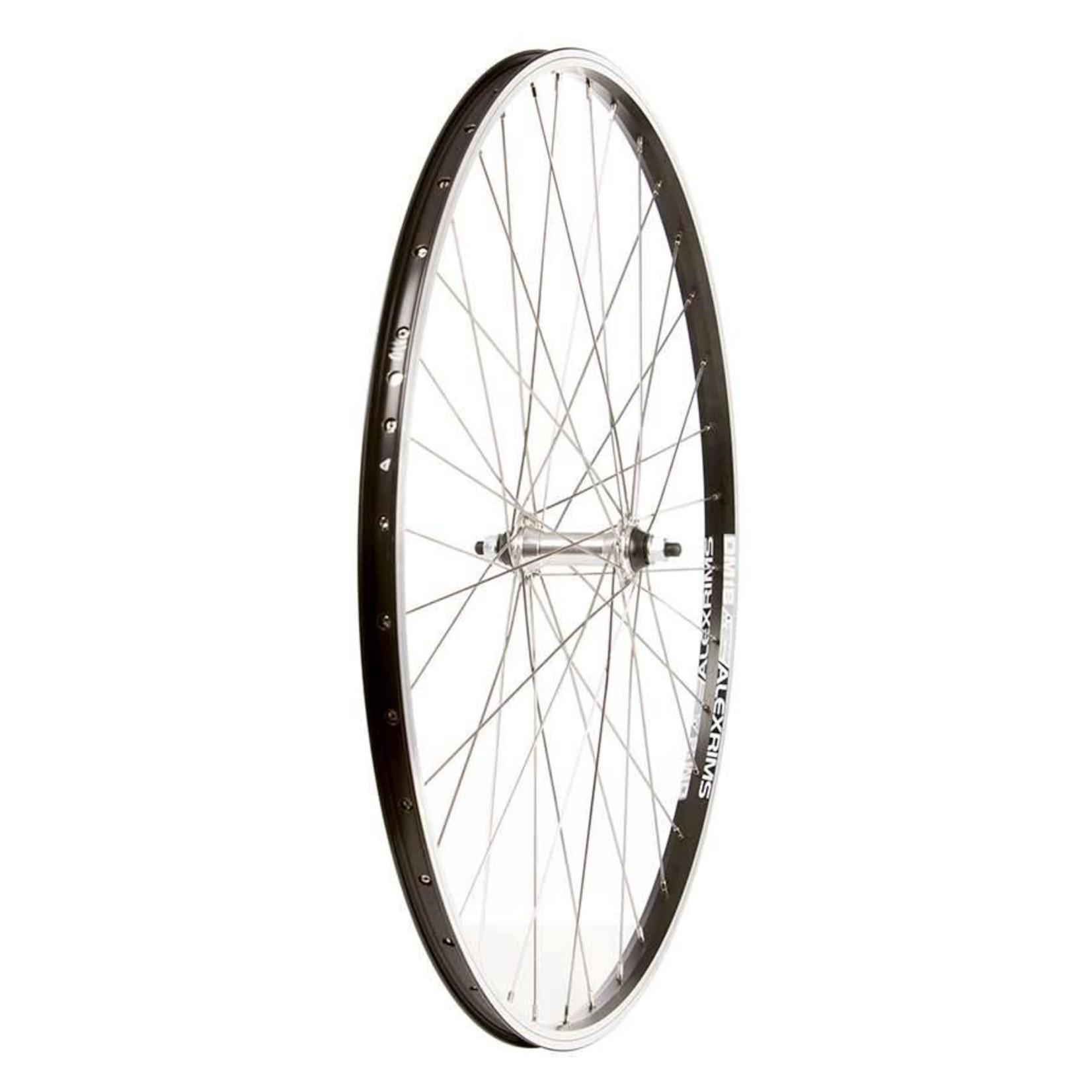 The Wheel Shop Wheel Shop, Alex DM18 Noir/ Formula FM-21-QR, Roue, Avant, 700C / 622, Trous: 36, QR, 100mm, Sur jante