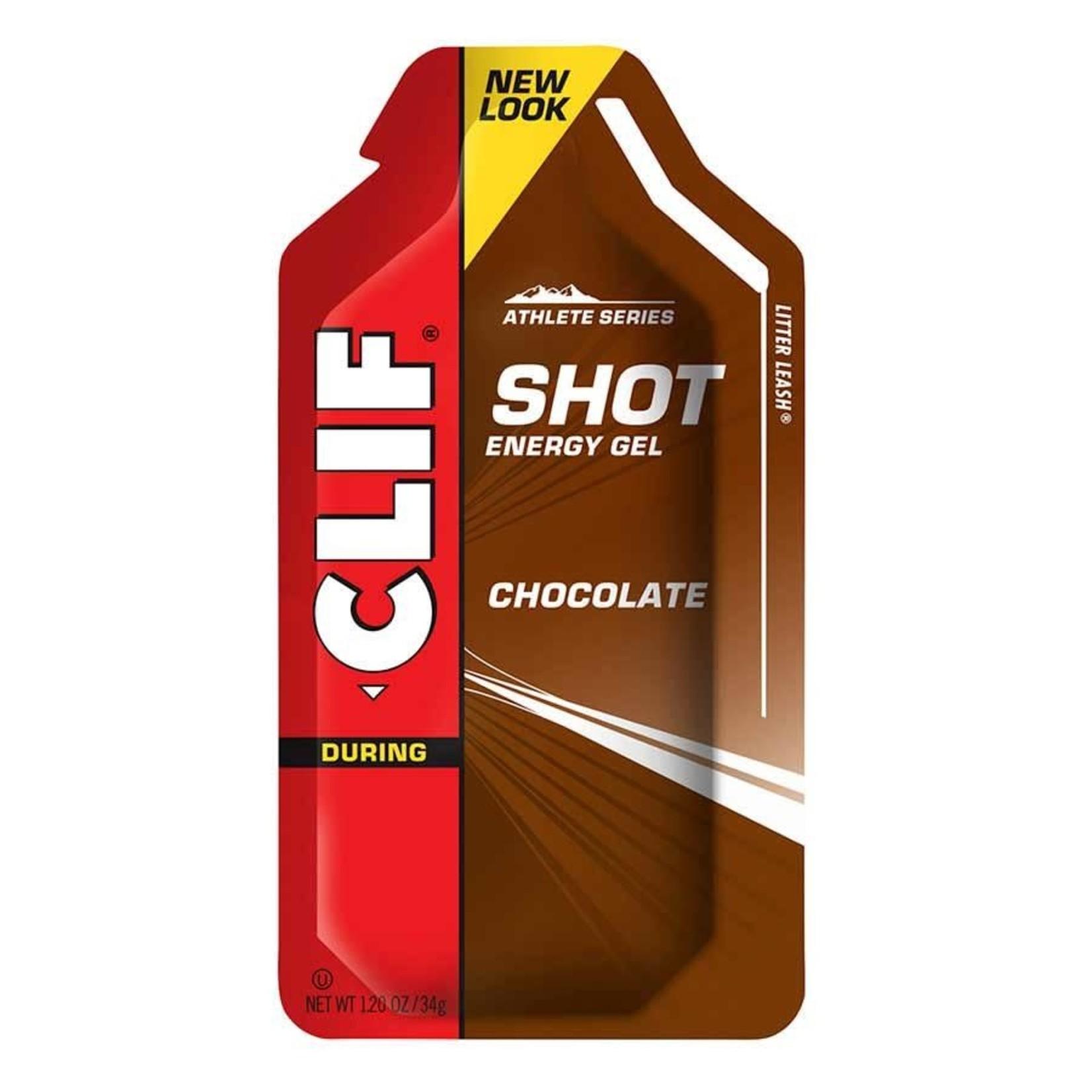 Clif Shot Energy Gels, Chocolat