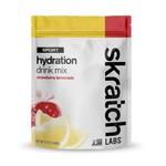 Skratch Labs Mélange de boisson d'hydratation pour sports: Limonade de fraise (Sac 440g)