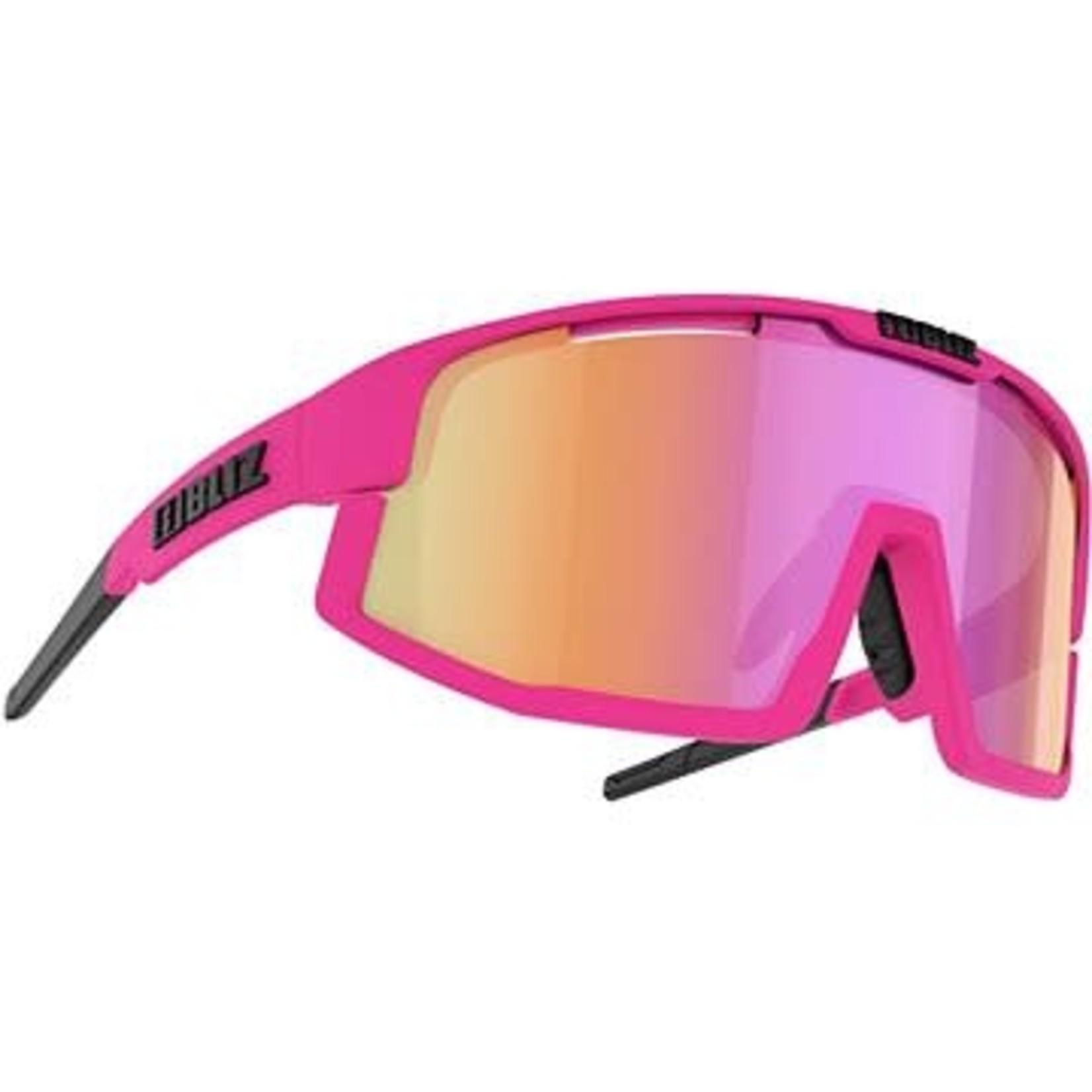 BLIZ VISION Pink - Brown w Purple multi
