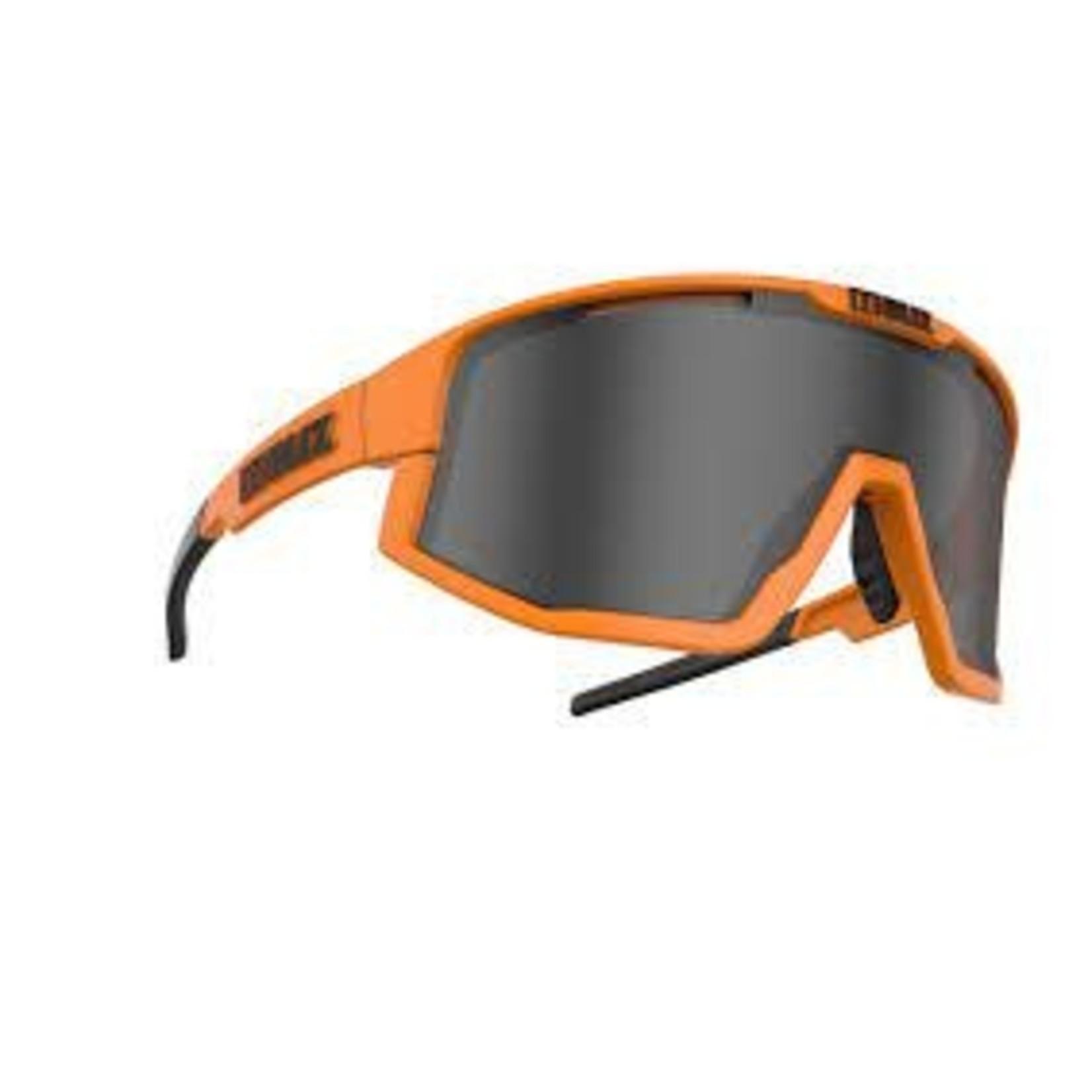 BLIZ FUSION Matt Neon Orange - Smoke