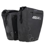 Oxford AQUA V 32 Double Pannier Bag Black