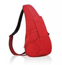 AMERIBAG 7103 SMALL RED MICROFIBER HEALTHY BACK BAG