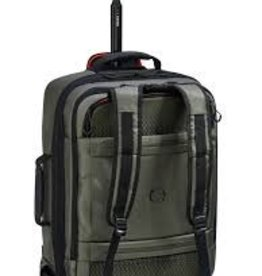 DELSEY 23551 OLIVE WHEELED BACKPACK 21