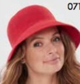PARKURST 17148 RED BERMUDA BUCKET  HAT