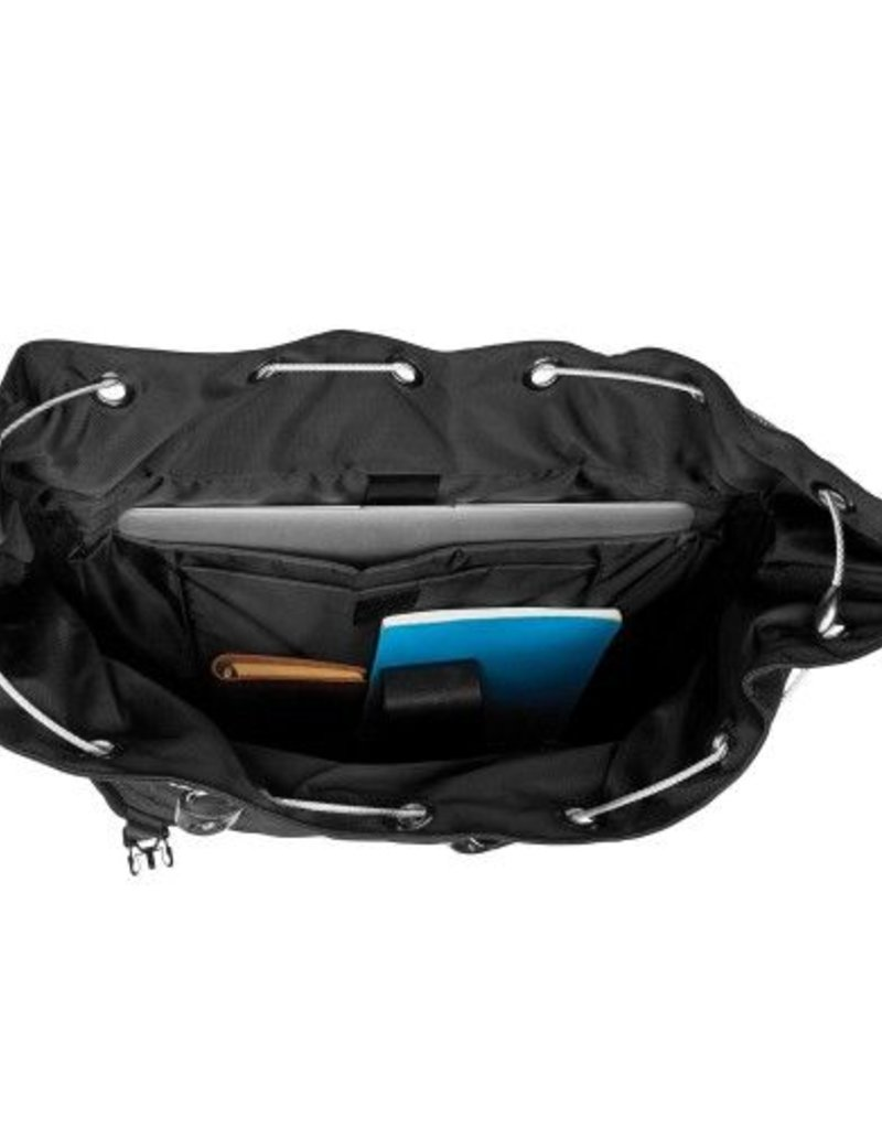 PACSAFE ULTIMATESAFE 15 INCH LOCKABLE LAPTOP MESSENGER BAG BLACK 55135100
