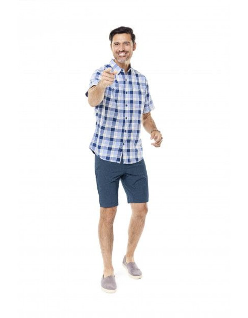 ROYAL ROBBINS 72215 MENS PLAID SHORT SLEEVE