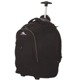 HIGH SIERRA HIGH SIERRA  BLACK WHEELED BACKPACK 53990