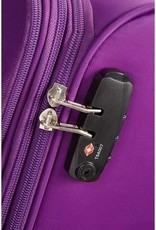 AMERICAN TOURISTER SAMSONITE BAYVIEW PURPLE SPINNER CARRYON 72523