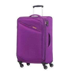 AMERICAN TOURISTER PURPLE SPINNER LARGE BAYVIEW
