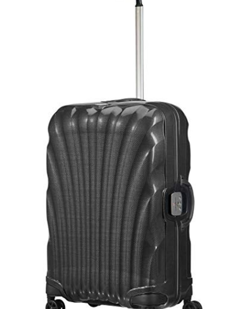 SAMSONITE SAMSONITE LITE LOCKED  BLACK MEDIUM SPINNER 74661#