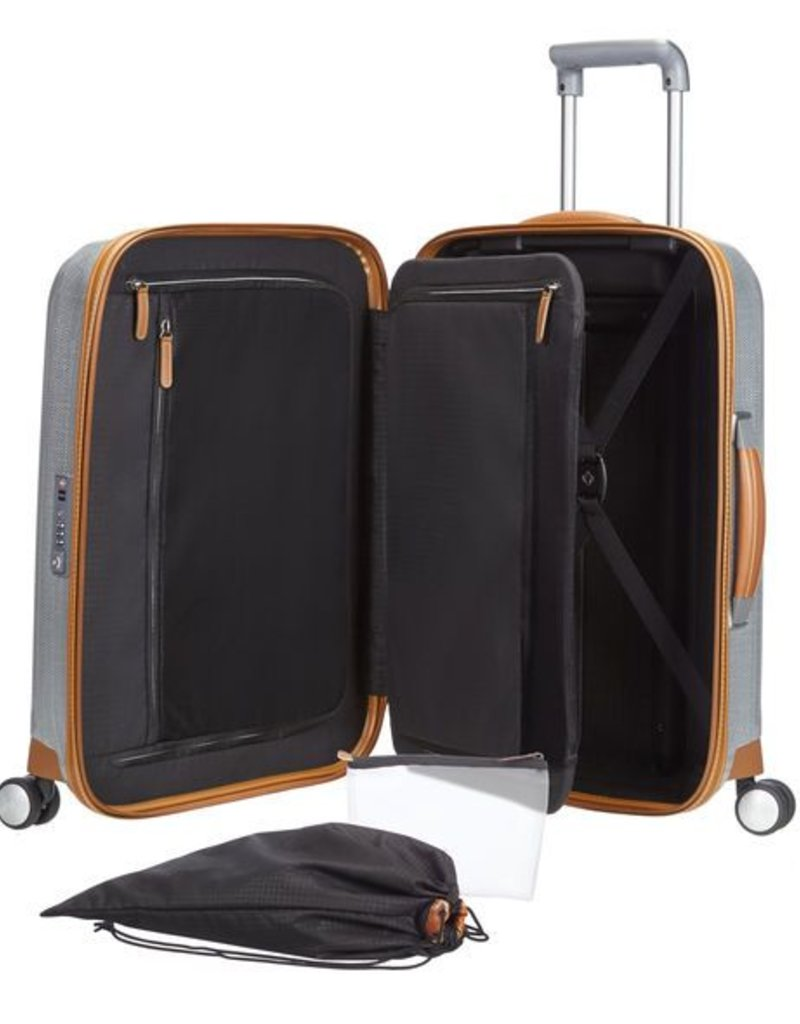 9130405dd 802311004 ALUMINUM SPINNER CARRY ON LITE-CUBE - Capital City Luggage