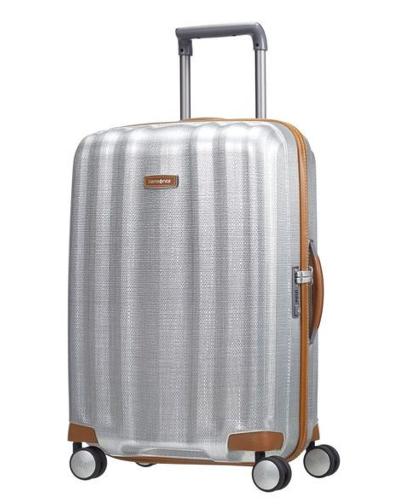 SAMSONITE 802321004 ALUMINUM SPINNER 25 MEDIUM LITE CUBE DLX