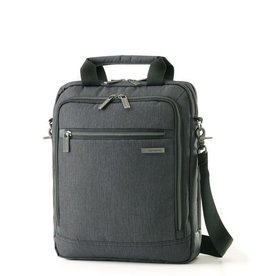 SAMSONITE 895805794 CHARCOAL VERTICAL MESSENGER BAG