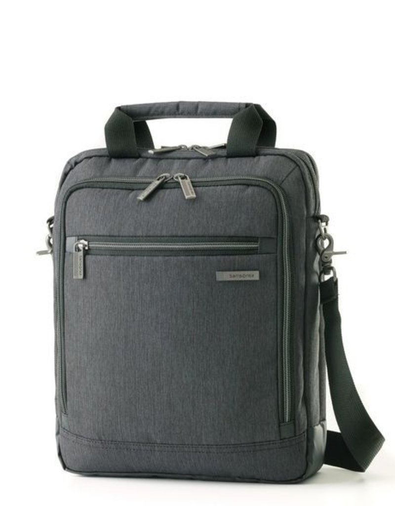 e4533eff38 895805794 CHARCOAL VERTICAL MESSENGER BAG - Capital City Luggage
