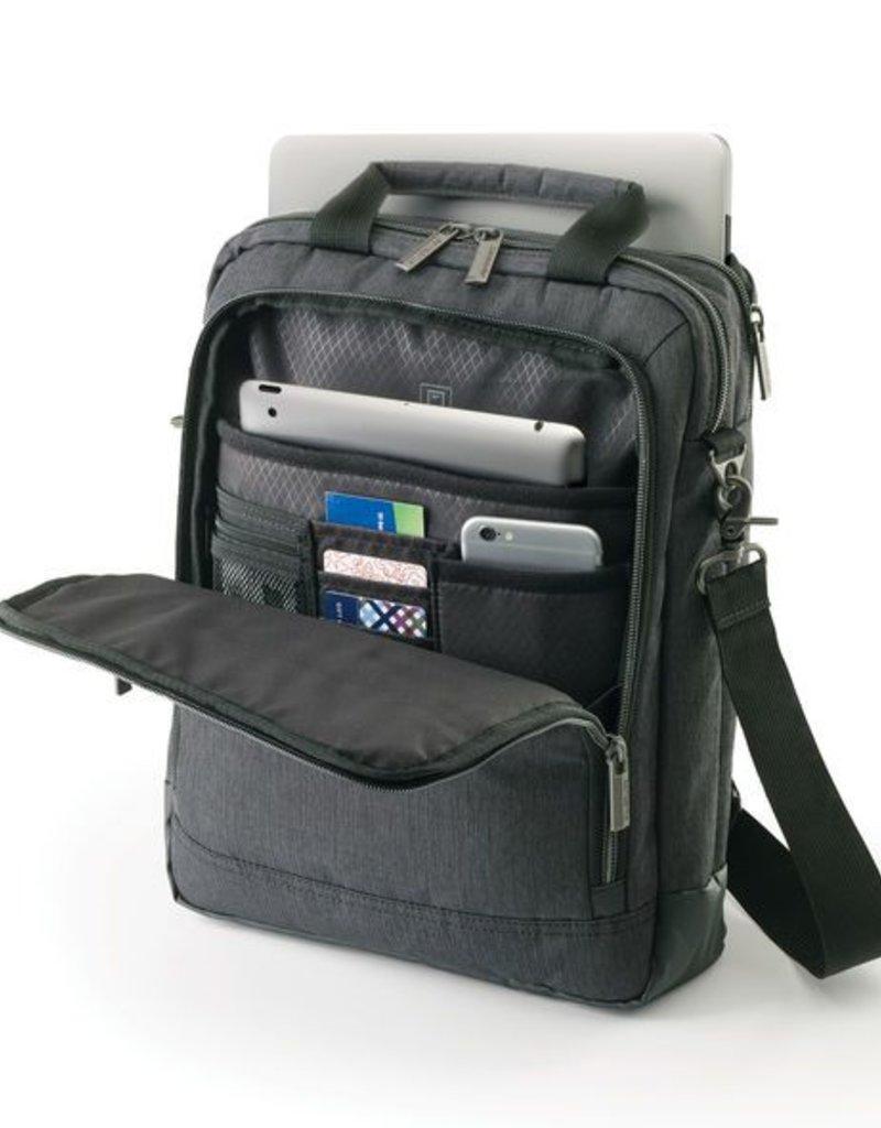 SAMSONITE 895805794 CHARCOAL VERTICAL MESSENGER BAG SAMSONITE 895805794  CHARCOAL VERTICAL MESSENGER BAG ... 816572e9e401e