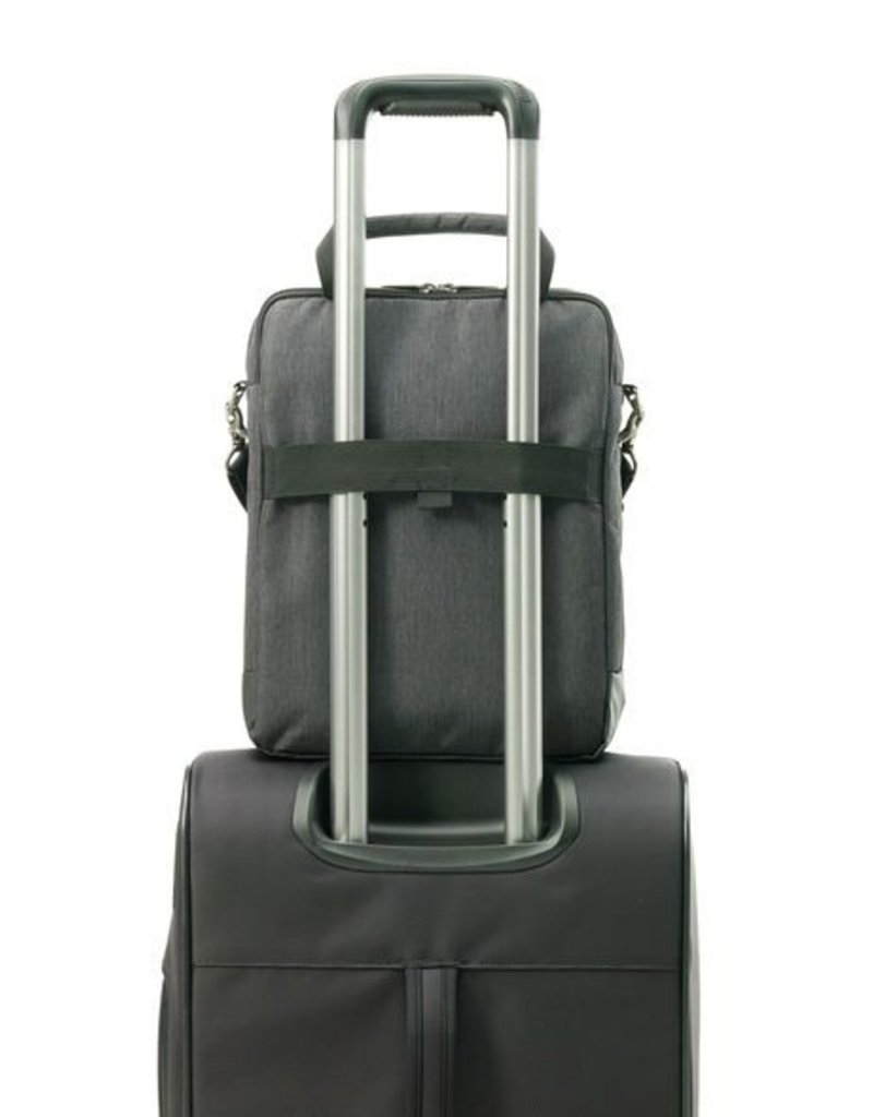 895805794 CHARCOAL VERTICAL MESSENGER BAG - Capital City Luggage f3525b84d5b82