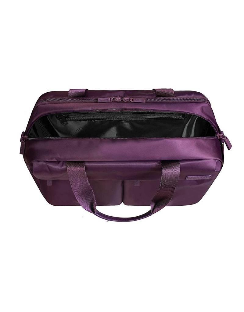 LIPAULT 908291717 PURPLE # LIPAULT 24 HOUR BAG