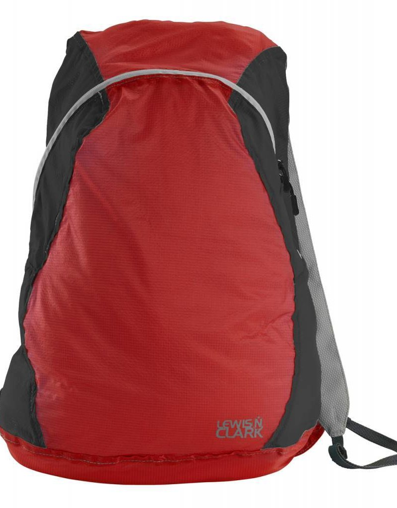 LEWIS N CLARK 1101 BACKPACK RED