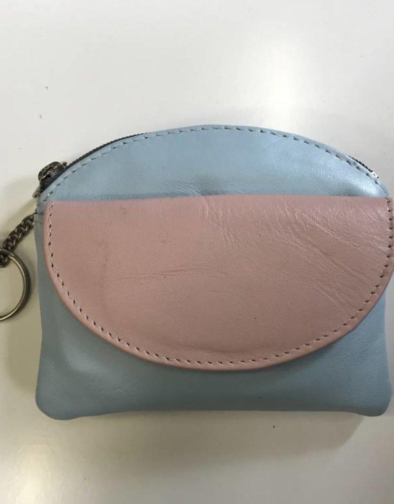 2206 COIN PURSE & RFID CARD HOLDER  LIGHT BLUE