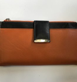 EXPRESSIONS 2253 LONG WALLET ORANGE RFID