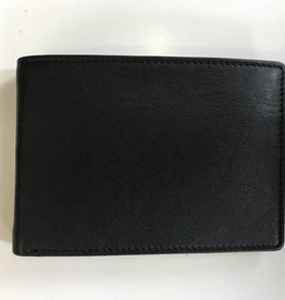 EXPRESSIONS 7006 MENS WALLET BLACK RFID