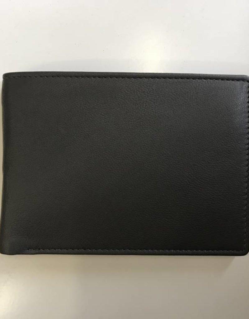 EXPRESSIONS 7006 MENS WALLET GREY RFID