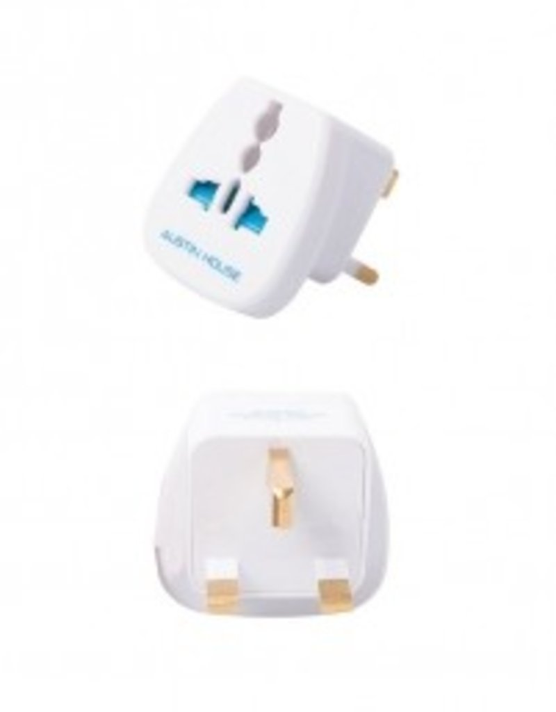 AUSTIN HOUSE AH12GB01 GREAT BRITAIN GROUNDED ADAPTER