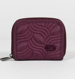 LUGLIFE SPLITS RFID WALLET SHIMMER WINE #