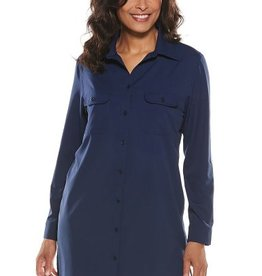 Coolibar 014780 Women's Santorini Tunic Shirt UPF 50
