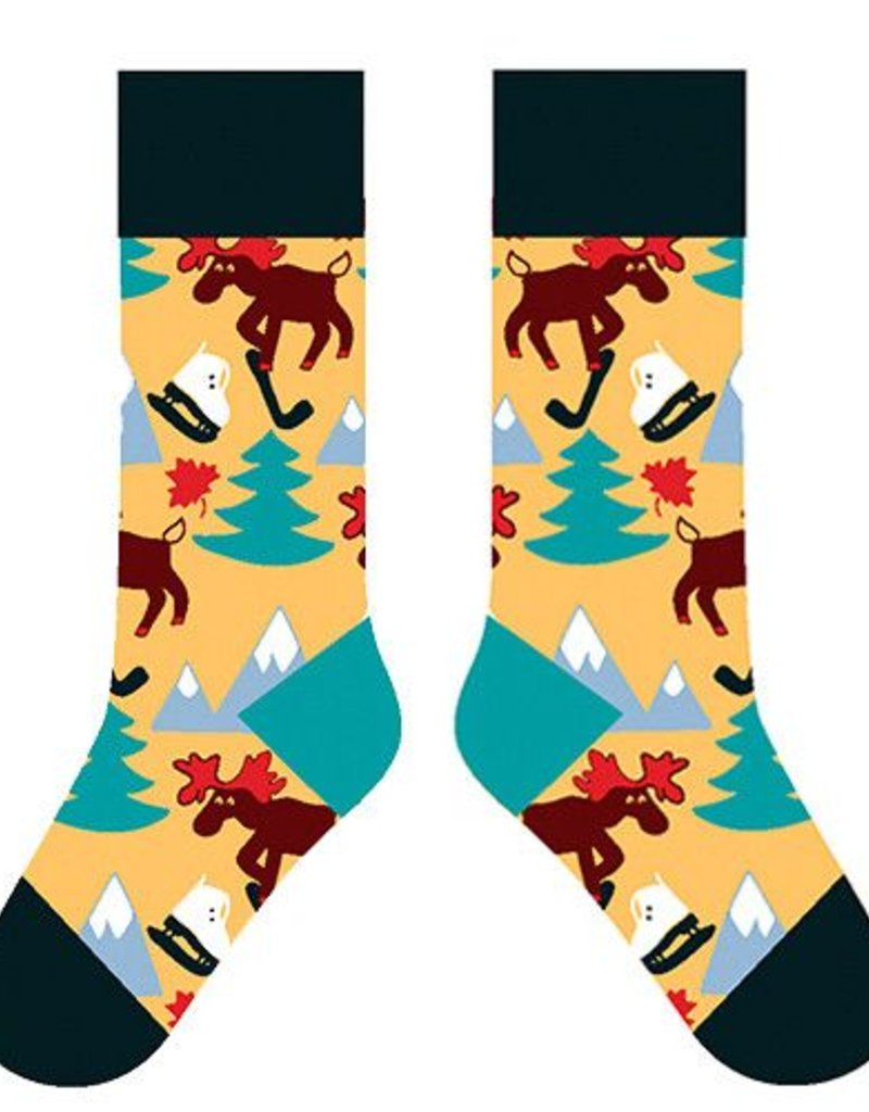 TWO LEFT FEET TWO LEFT FEET SOCK MOOSE SMALL FEET