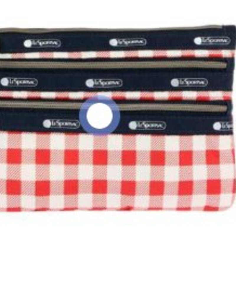 LESPORTSAC 2260 CLASSIC 3 ZIP POUCH