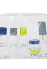 TRAVELON 02037 CLEAR CARRY ON COMPLIANT TOILETRY KIT