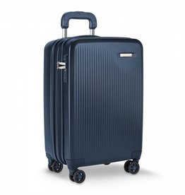 BRIGGS & RILEY SU121CXSP-59 MATTE NAVY INT'L CARRY ON SPINNER