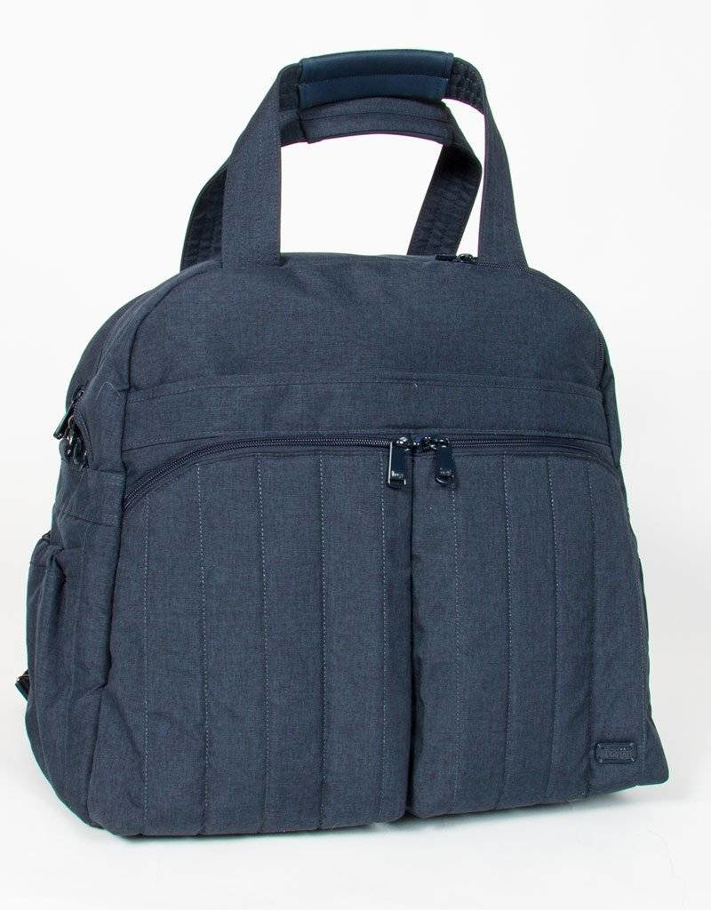 LUGLIFE BOXER HEATHER INDIGO OVERNIGHT BAG